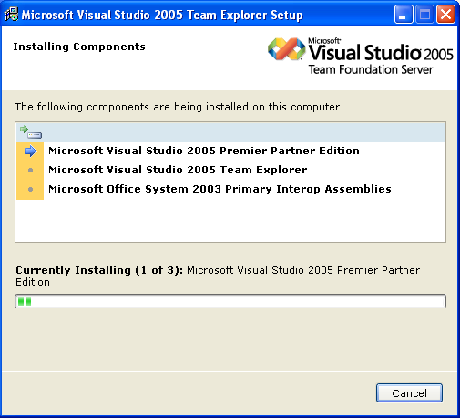 Microsoft visual studio 2005 support windows vista update keeps repeating